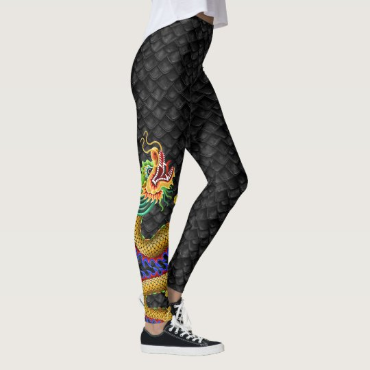 Leggins de dragones